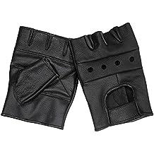 Bekleidung Handschuhe normani® Handschuhe aus Leder ohne Finger mit Nieten