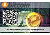 Bitcoin Paper Wallet Card, Hardware Wall