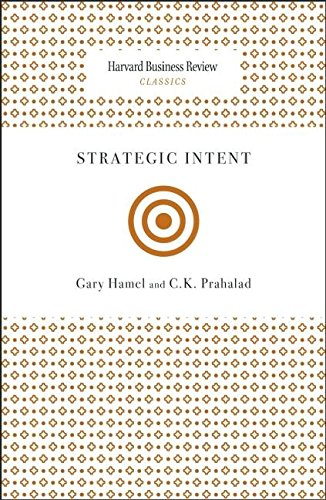 Strategic Intent (Harvard Business Review Classics)