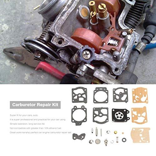 JohnJohnsen K20-WAT Vergaser Reparatursatz Set Rebuild Werkzeug Dichtung für Walbro Motorrad-Ersatzteile Zubehör Kraftstoff Vergaser Versorgung (Mischungsfarbe)