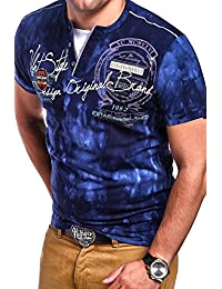 MT Styles 2in1 T-Shirt P-CLARK manches courtes contrasté R-2989