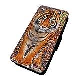 Schöne Tiger Foto–Flip-Telefon Schutzhülle Wallet Cover Samsung Galaxy S3