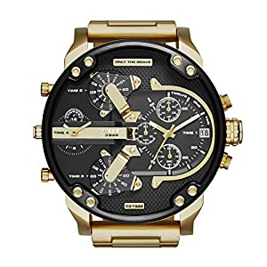 Hombre-Reloj diesel MR Daddy 2.0 cronógrafo de Cuarzo con Revestimiento
