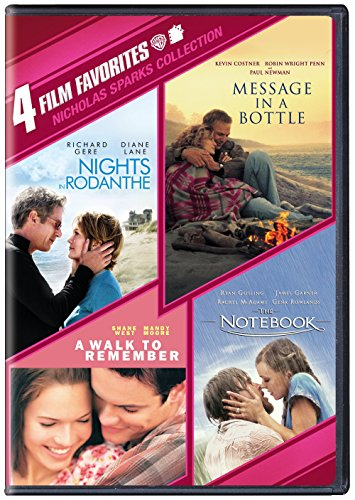 4 Film Favorites: Nicholas Sparks Romances / (Ws) [DVD] [Region 1] [NTSC] [US Import] (4 Film Favorites Dvd)