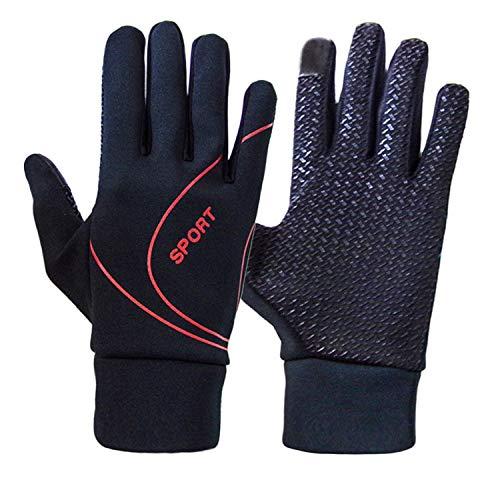 Arbeitshandschuhe Rutschfeste Touch Screen Handschuhe, Winter-kalter Wetter-windundurchlässiger thermischer Handschuh für das Smartphone, das simst - Silikon-Gel und Handwärmer für die Mann-Frauen, di (Handschuhe Winter Thermische)