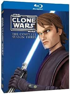 Star Wars: The Clone Wars - The Complete Season Three [Blu-ray] [2011] [Region Free]