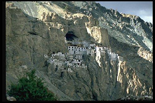705040 Cave Temple Zanskar India A4 Photo Poster Print 10x8 - Cave Temple
