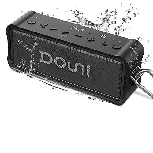 Bluetooth wasserdichte Lautsprecher, ZealSound Tragbarer Lautsprecher im Freien, 20W Dual Driver, Bass Boost, IP67 wasserdicht, TF Karte Solt und NFC-Lautsprecher für Party, Pool, Reisen, Camping