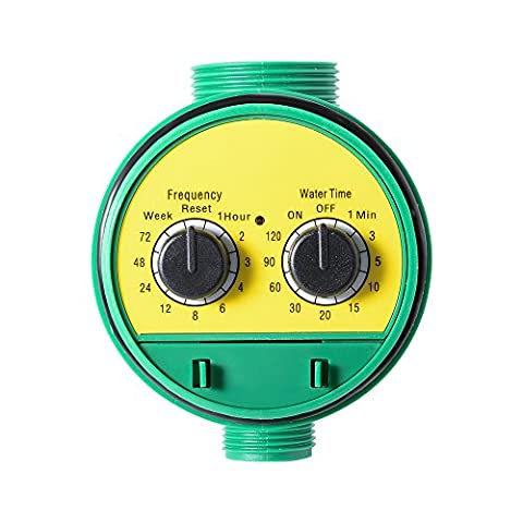 XCSOURCE Rotary Knob Style Automatic Watering Controller Irrigation Timer Outdoor