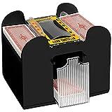 Geschenkbox Elektrische Kartenmischmaschine, batteriebetrieben, für 4 Oder 6 Decks (6 Decks)