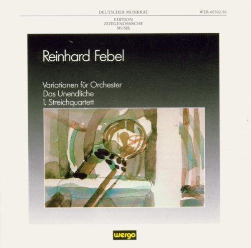 Preisvergleich Produktbild Deutscher Musikrat: Edition Zeitgenössische Musik - Reinhard Febel