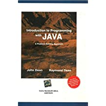 Introduction to Programming with Java: A Problem - Solving Approach