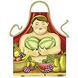 Tobeni 1732 Schürze Botero Woman für Grill und Küche