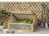 Mini-Gewächshaus / Frühbeet für den Garten - Aus Holz