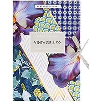 6 láminas de Revestimiento para cajones Vintage, Trenzas y Flores
