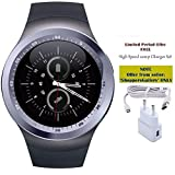 Captcha (Top Selling) Y11 Smart Watch with Sim/Memory Card Slot (One Year Warranty) For Men/Woment/Kids with FREE GIFT OFFER (2Amp V8 Charger)