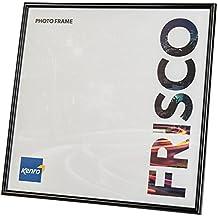 Kenro Frisco 12x12 30x30cm'' Negro Marco de fotos [FR3030B]