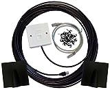 75m Cat6Externe Outdoor Netzwerk Kabel Ethernet Verlängerung Kit Face Teller Box