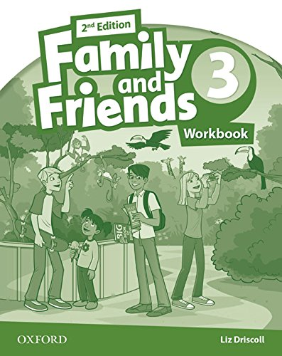 Family & Friends 3. Activity Book - 2ª Edición (Family & Friends Second Edition) - 9780194811330