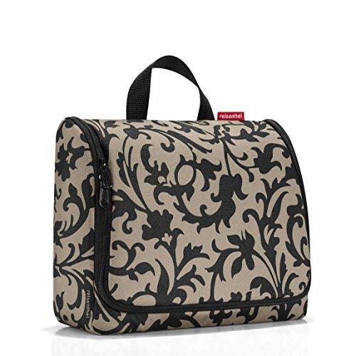 Reisenthel hängende Kulturtasche, für Übernachtung, leicht, groß Verschiedene Farben! mehrfarbig Baroque Taupe Large