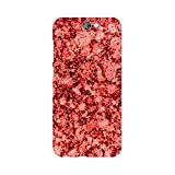 Mobicture Pinky Smoke Paint Abstract Premium Printed Mobile Back case cover For HTC One A9