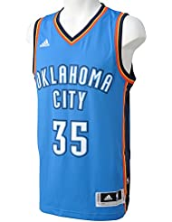 adidas Basketball Oklahoma City Thunder Swingman Trikot, Camiseta para Hombre, Multicolor (Blanco/