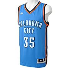adidas Basketball Oklahoma City Thunder Swingman Trikot, Camiseta para Hombre, Multicolor (Azul/