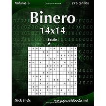 Binero 14x14 - Facile - Volume 8 - 276 Grilles