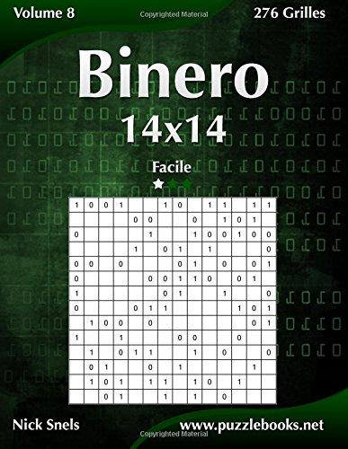 Binero 14x14 - Facile - Volume 8-276 Grilles par Nick Snels