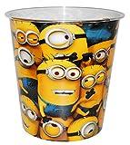 ' Minions' - Papierkorb - Kunststoff -' Ich einfach unverbesserlich' - Aufbewahrungsbox für Kinder Jungen - Mülleimer Eimer - Abfallbehälter / Abfalleimer Kinderzimmer - Minion Stuart Tom Steve Mark / Mädchen
