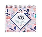 Grupo Erik Editores - Calendario de sobremesa Amelie 2019, 17 x 20 cm