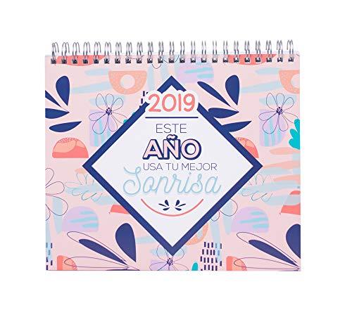 Grupo Erik Editores - Calendario de sobremesa Amelie 2019, 17 x 20...