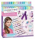 Make it Real - Hair Candy Zubehör Tween Haar-Accessoires-Set für Mädchen. DIY Mädchen Haarbänder, Haargummi Schleife, Perlenbesatz, Schmucksteine, Bänder und mehr