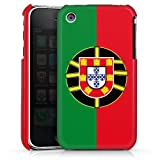 DeinDesign Apple iPhone 3Gs Housse étui coque protection Portugal Drapeau Football