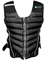 Body Rip Premium - Chaleco de peso, color negro, 5 kg