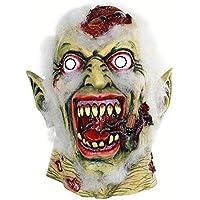 Poetryer Máscara de Halloween Máscara de terror Horror Cadáver podrido Máscara de fantasma de látex Disfrazado