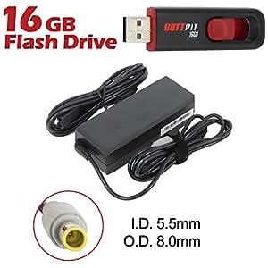 Battpit Ordinateur portable AC Adaptateurs Secteur / Chargeur Pour Lenovo ThinkPad T420 4236 Avec lecteur Flash USB 16GO GRATUIT