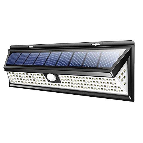 Taoytou 118LED Solar Lampe Outdoor Garten Hof wasserdicht PIR Bewegungssensor Licht -