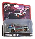 Disney Star Wars Pixar Cars Chick Hicks as Boba Fett 1/55 Die-Cast Series 2 - Theme Park Exclusive Limited Edition