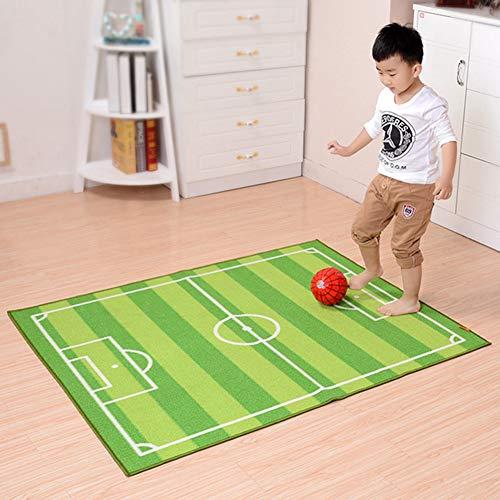 KALRTO Alfombra con Diseño De Campo De Fútbol