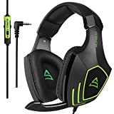WHY YOU NEED IT:THIS IS THE BEST GIFT FOR NEW XBOX AND PS4 GAMERFolding, Noise-Cancelling MicThe mic reduces distracting background noise so you're clearly heard. Plus, you rotate the mic to the best position for the clearest voice pick up-or up and ...