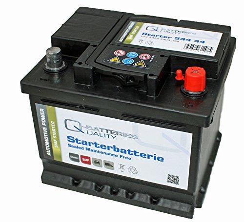 Preisvergleich Produktbild Q-Batteries Autobatterie 12V 44Ah 440A Alternative zu B18