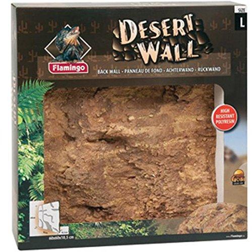 Flamingo Terrarium Rückwand Desert Wall L ca. 60 x 60 cm 3D