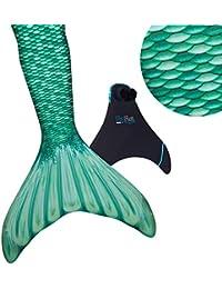 Fin Fun Meerjungfrauenschwanz Zum Schwimmen mit Meerjungfrau Flosse - Mädchen, Kinder, Erwachsene