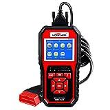 OBDII Dispositivo Diagnostico konnwei kw850 diagnostico OBD2/EOBD Scanner per la lettura e cancellazione del motore dei codici di errore Volle OBD 2 multifunzionale Scan Tool Controllare luce del moto