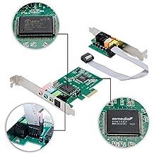qobobo® PCIE de 8 canales tarjeta de sonido expreso