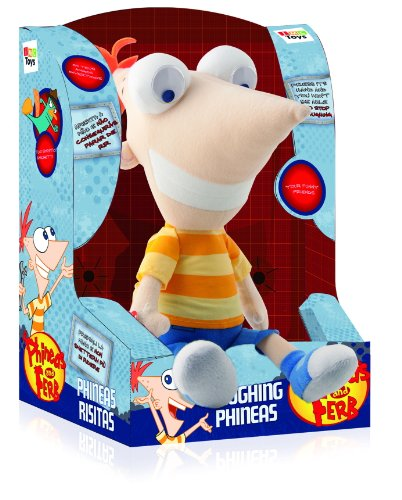 Imagen 2 de IMC Toys 460058 Phineas y Ferb - Phineas Risitas