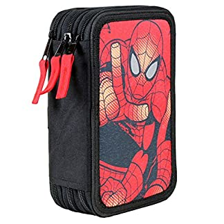 CERDÁ Plumier Spiderman Marvel Attack triple