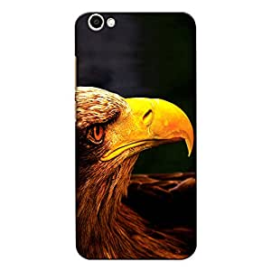 CrazyInk Premium 3D Back Cover for Vivo Y53 - Eagle Macro