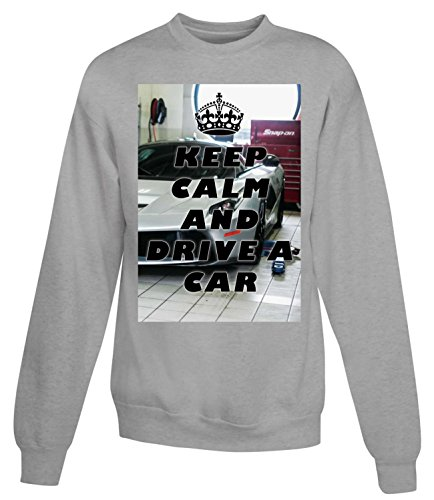Billion Group | Drive A Car | Women's Unisex Sweatshirt Gris